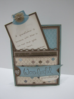 Elegant Soiree Masculine Birthday Card