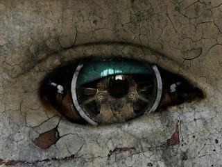 Technical Eye Dark Gothic Wallpaper