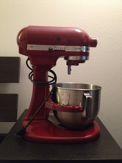 A Budget Fairy Tale Moment - My Kitchenaid Mixer