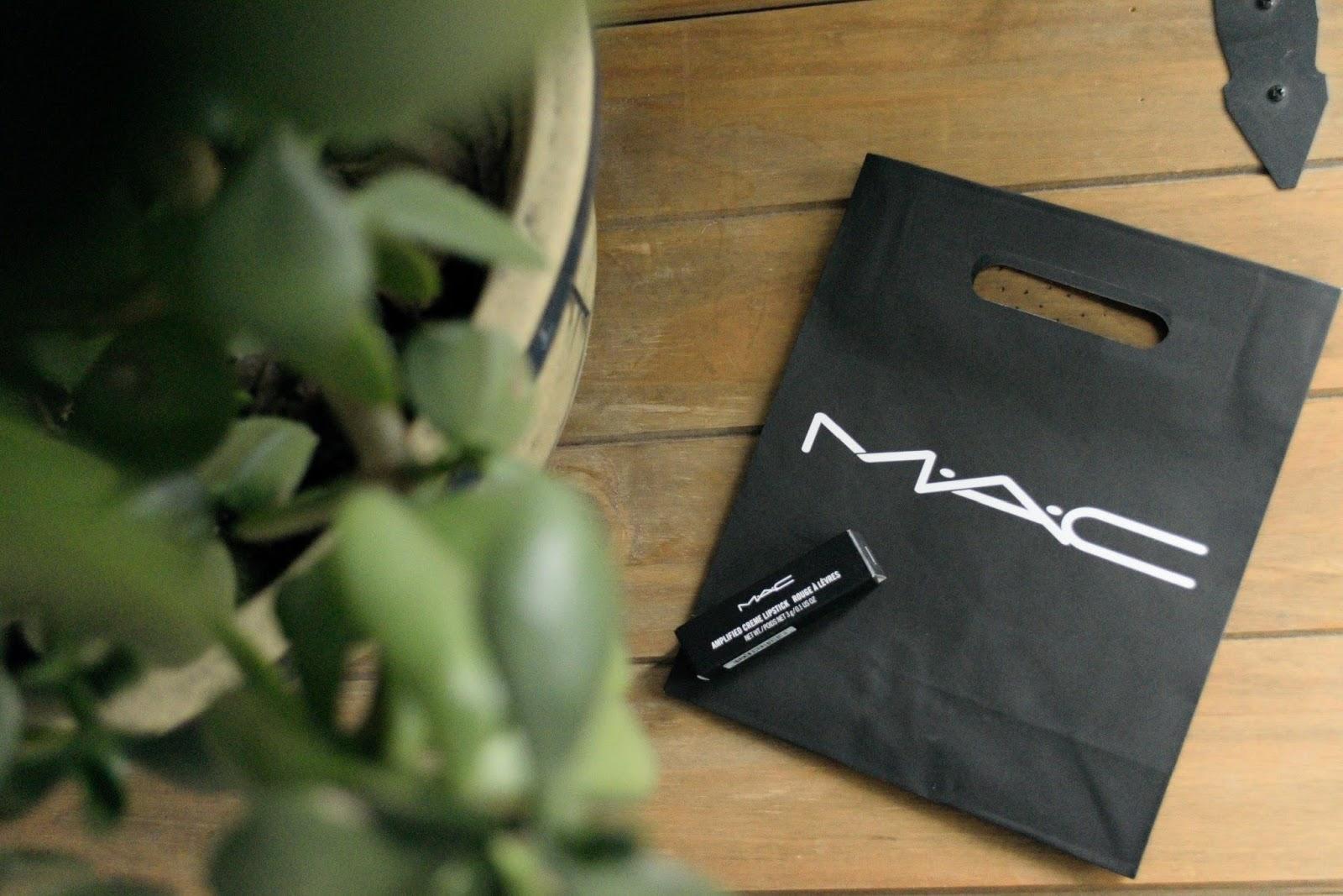 MAC lipstick, dubonnet