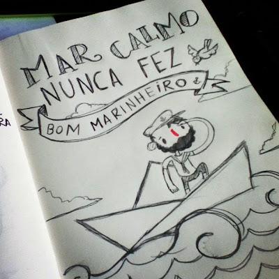 Apaixone-se pelas ilustrações de Vitor Martins