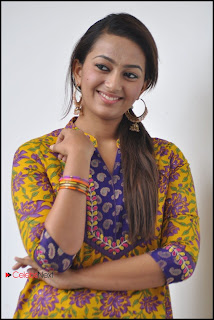 Telugu Actress Esther Picture Gallery in Salwar Kameez at 1000 Abaddalu Movie Press Meet  0019.jpg