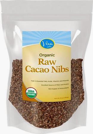 viva labs coconut  cacao nibs
