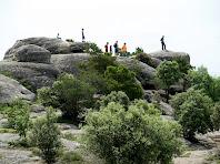 Enfilats a les Roques de Sant Marc
