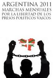 SOLIDARIDAD EN ARGENTINA CON L@S PRES@S VASC@S