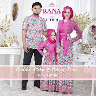 Foto Baju Batik Edisi Lebaran 2015