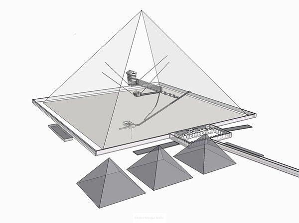 Giza – the Time Machine  PyramidKhufu31