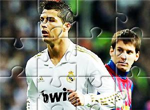 Puzzles de Cristiano VS Messi