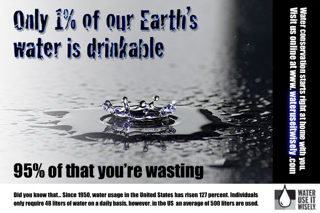 wastage of water Wasting water has far-reaching consequences, which include destruction of aquatic environments, lack of agricultural productivity and scarcity of safe.