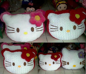 HELLO KITTY GIANT, JUMBO DAN MEDIUM