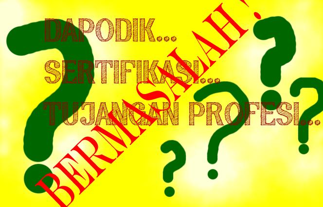 Cara memperbaiki Data PTK di Dapodik, P2TK Dikdas, dan SK Tunjangan