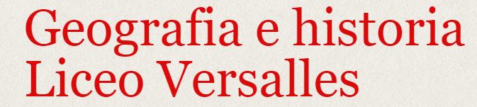 Blog de Georgrafía e Historia