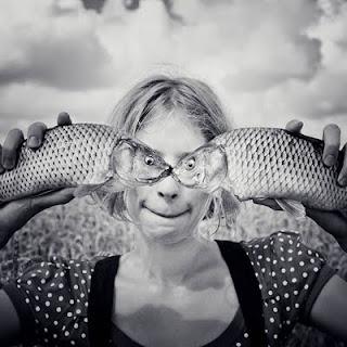 fish eye optical illusion