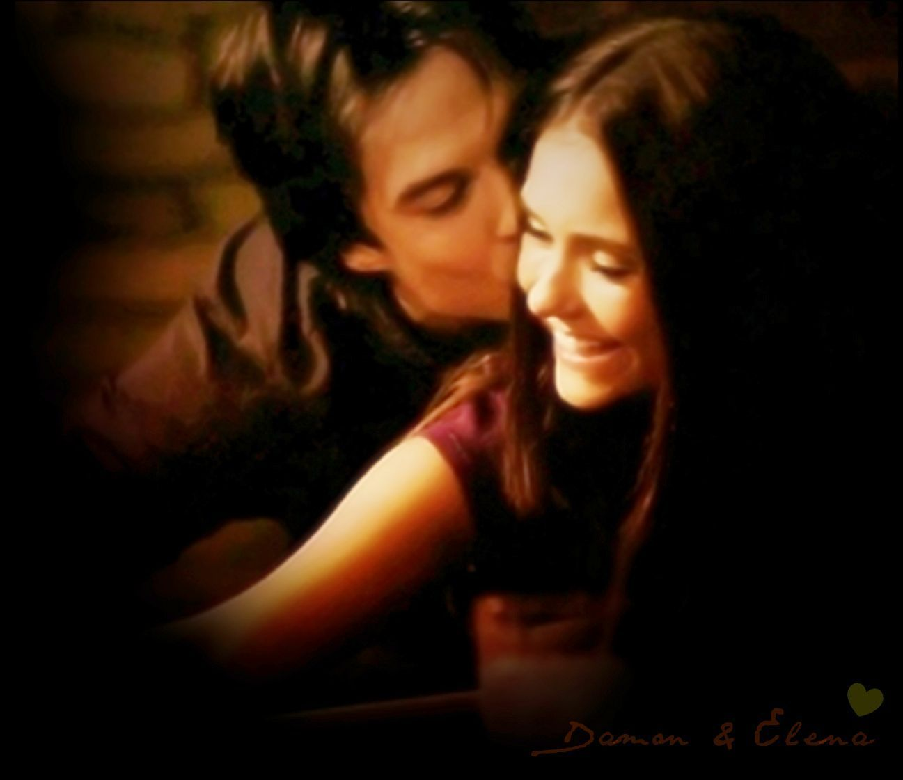 damon salvatore & elena gilbert | i will go down with this ship
