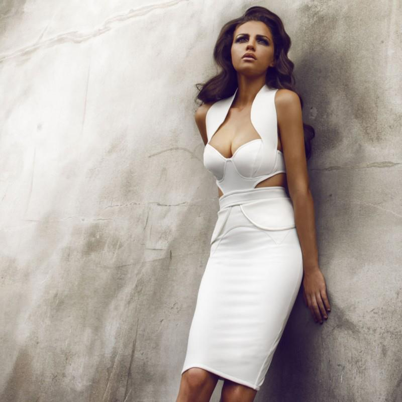 Classy White! - Provocative Woman