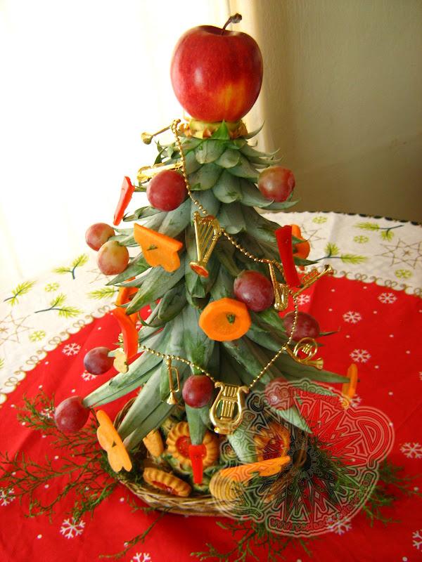 Cocina costarricense centro de mesa navide o - Centros navidad caseros ...