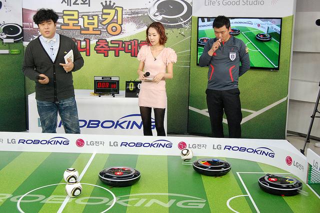 LG Roboking Kicks