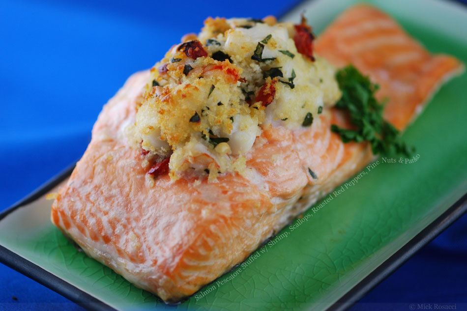 jus baked salmon recipes herb stuffed baked salmon recipes dishmaps ...