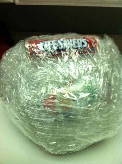 The Young Life Leader Blog The Shrink Wrap Candy Ball Game