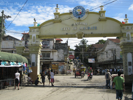 Welcome arch of Masbate City, Bicolandia