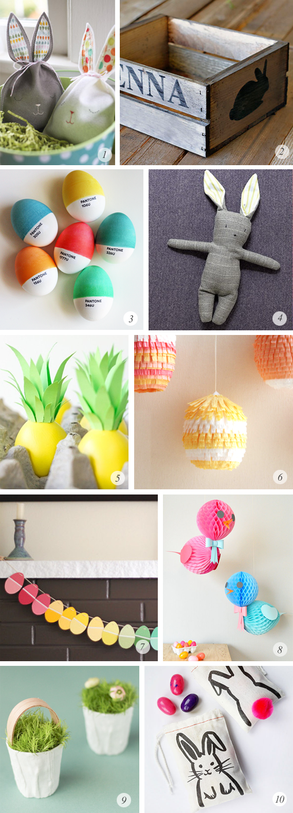10 Great Easter DIY Projects
