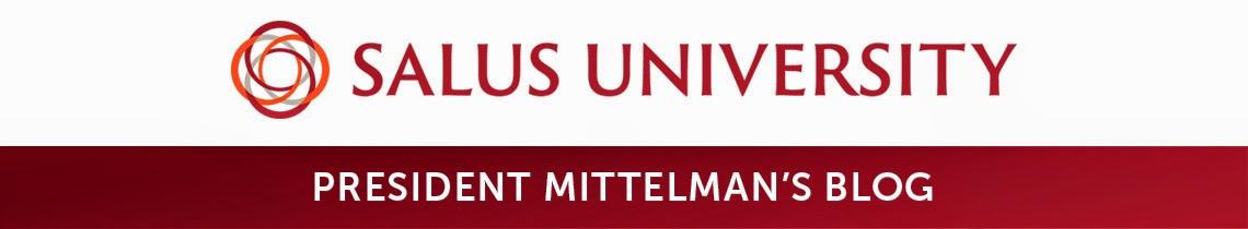Salus University - President Mittelman's Blog