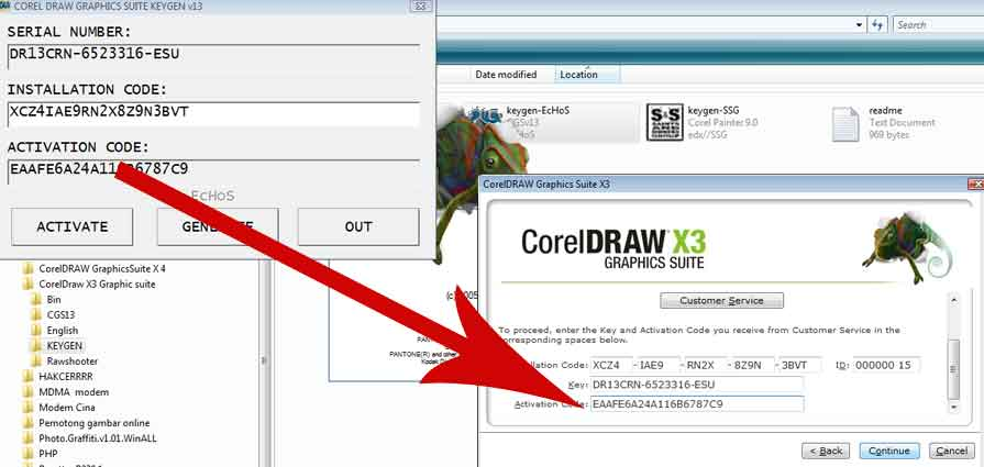 Corel Draw X3 Activation Key Free Download - 2 Censorship ...