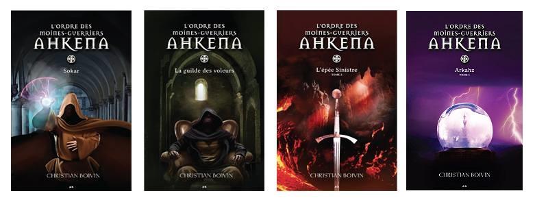 Tomes disponibles - L'Ordre des moines-guerriers Ahkena