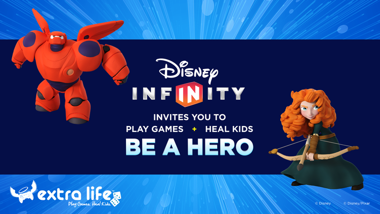 Disney Infinity Extra Life Family Fun Day