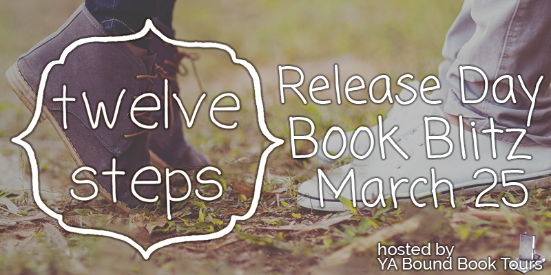 Twelve Steps Giveaway Ends 4/23