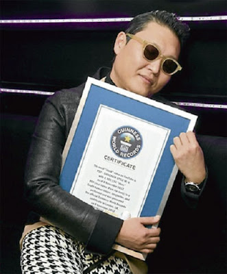 Gangnam World Records