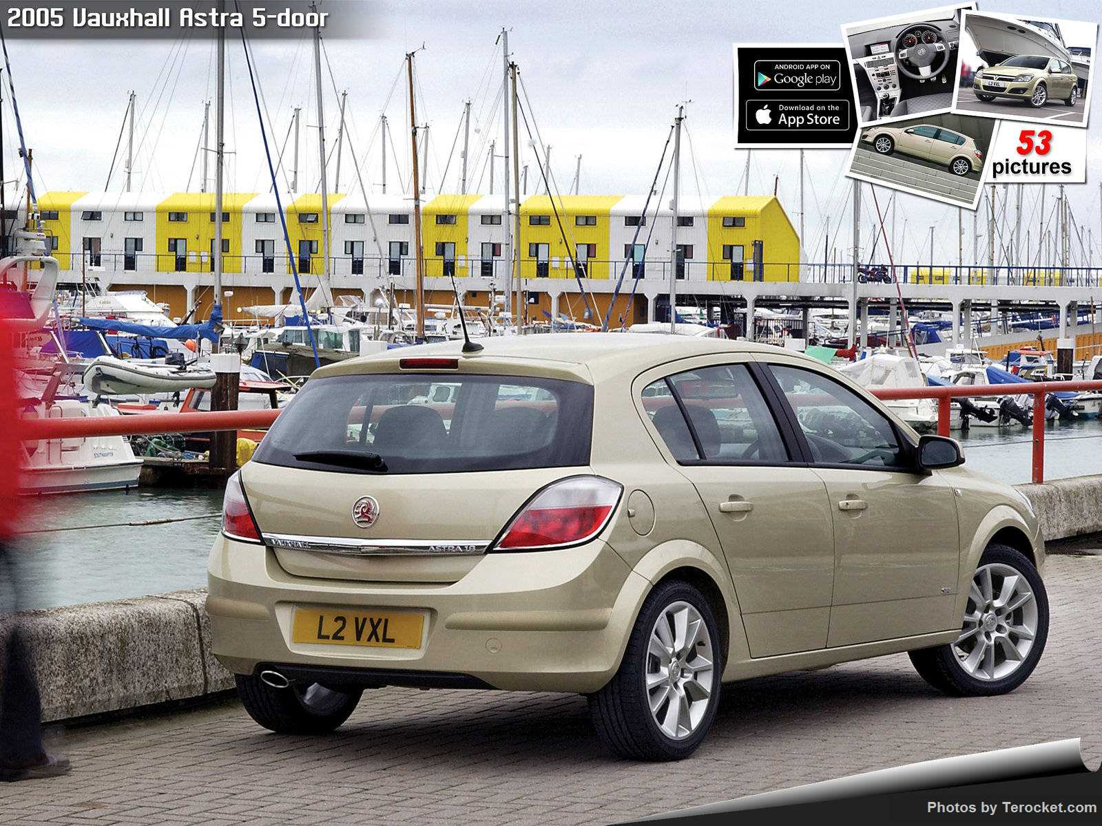 Hình ảnh xe ô tô Vauxhall Astra 5-door 2005 & nội ngoại thất