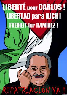 EXIGIMOS LA REPATRIACION DE ILICH RAMIREZ SANCHEZ!!!