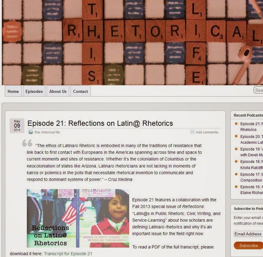 http://thisrhetoricallife.syr.edu/episode-21-reflections-on-latin-rhetorics/