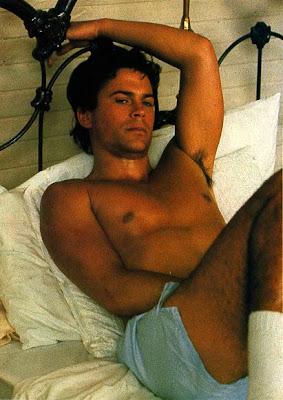 Vintage hotness: Rob Lowe