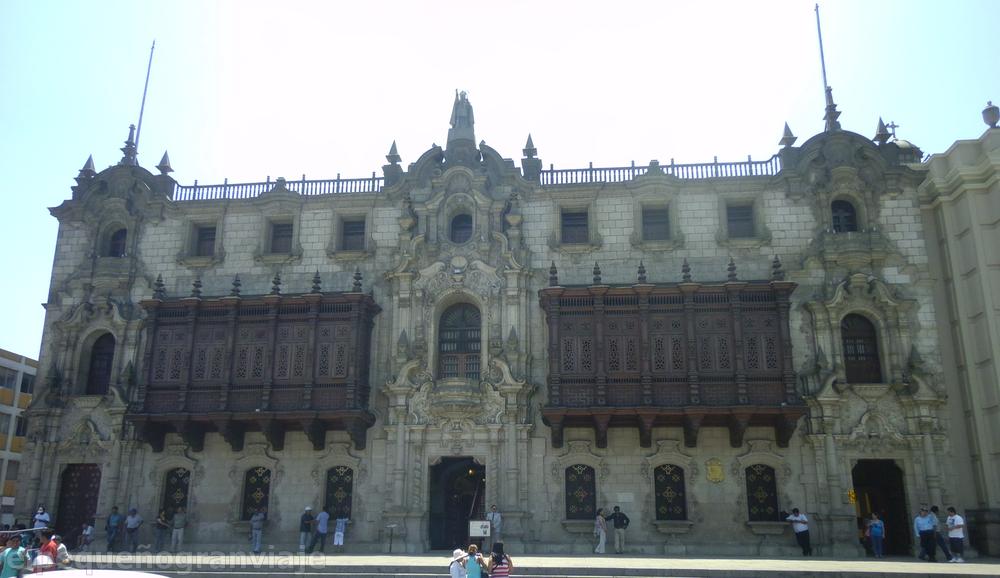 Palacio Arzobispal Lima