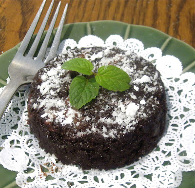 http://blog.dollhousebakeshoppe.com/2012/05/3-minute-brownie-for-one-egg-free-dairy.html
