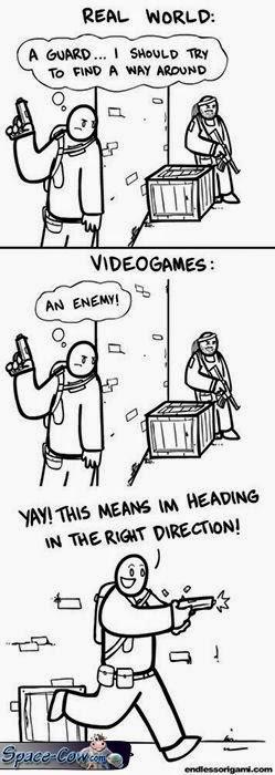 funny games logic comics