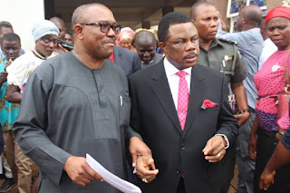 Peter Obi and Willie Obiano