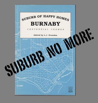 Burnaby B.C. - Historical Development,  book  1995