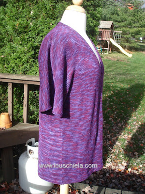 Knitting Plus - Seagirt Pullover sleeve
