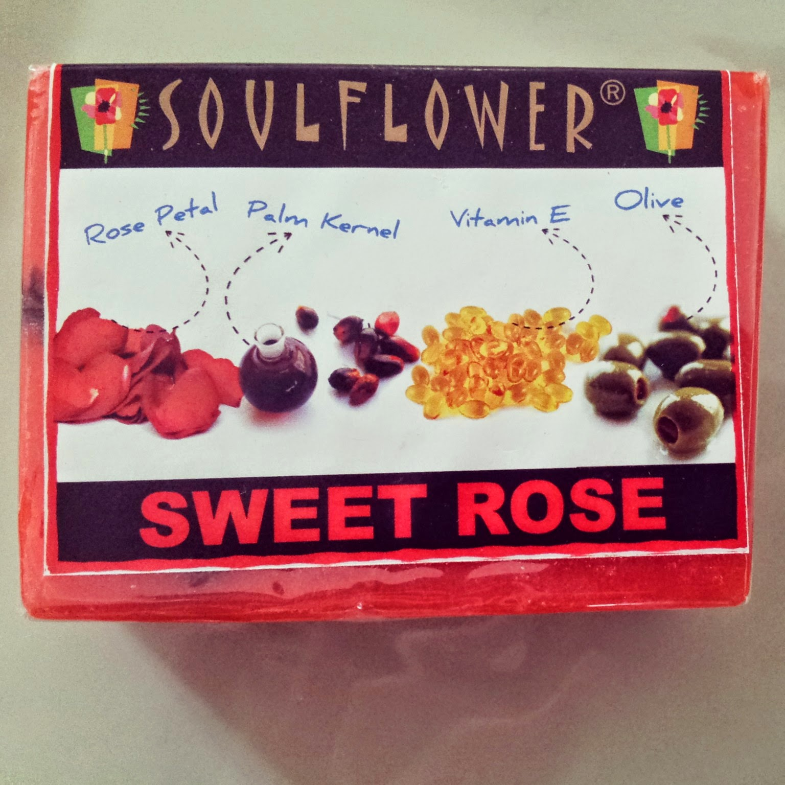 Soulflower Sweet Rose Soap Review image