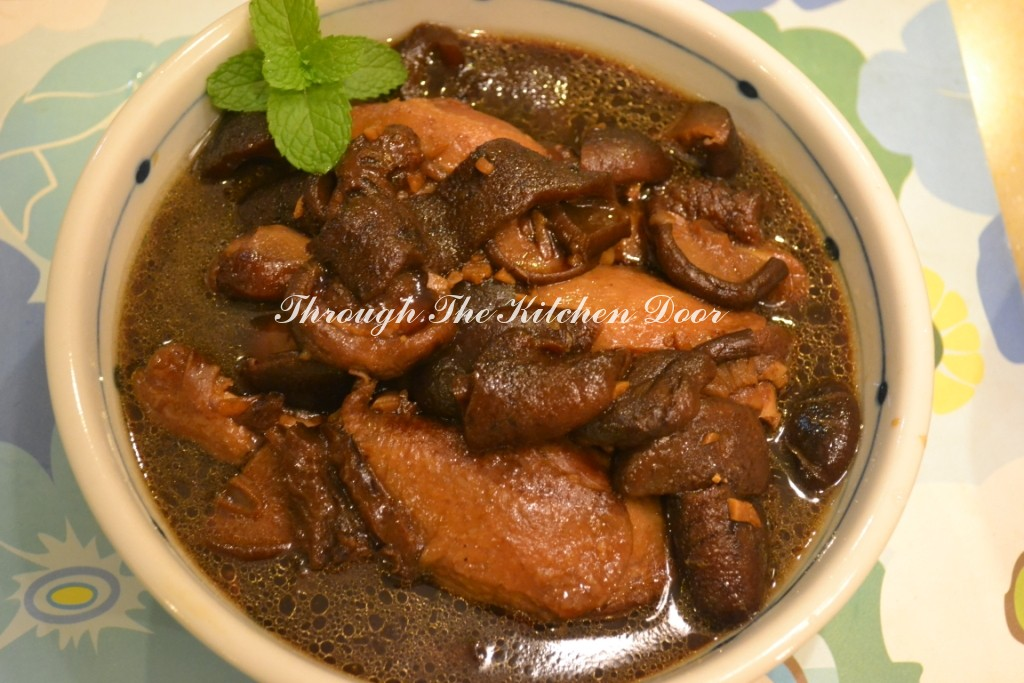 Through The Kitchen Door: Braised Duck With Sea Cucumber ...