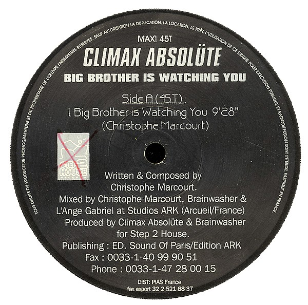 Climax Absolüte* Climax Absolute, The - Another Climax's Trip