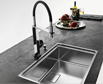 modern kitchen sink -stainless steel