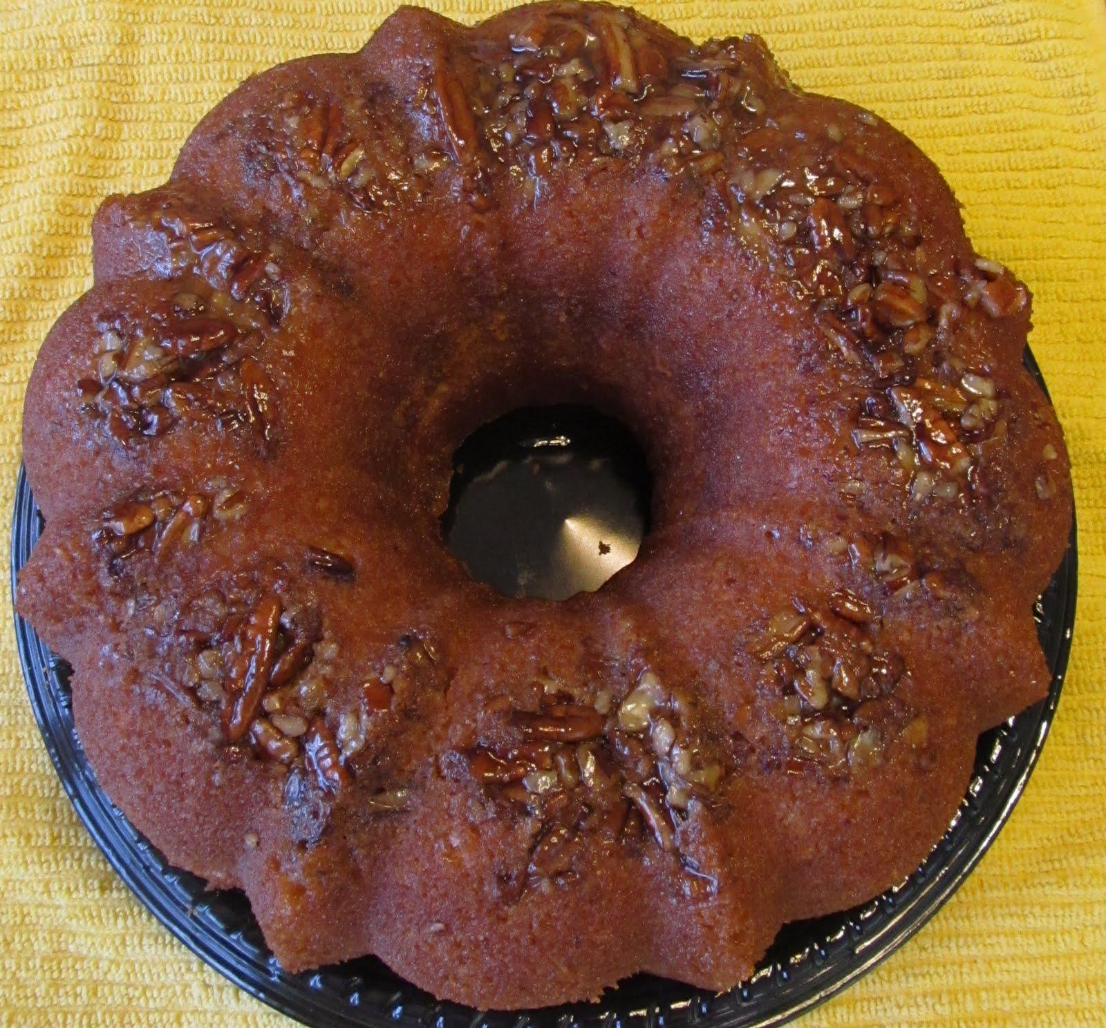 Fast Daze: Pina Colada Rum Cake {Recipe}