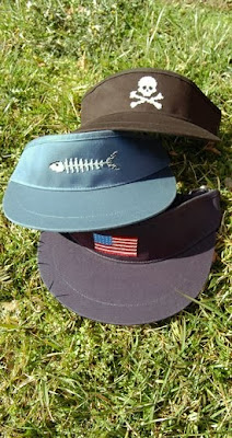 Smathers & Branson needlepoint visors