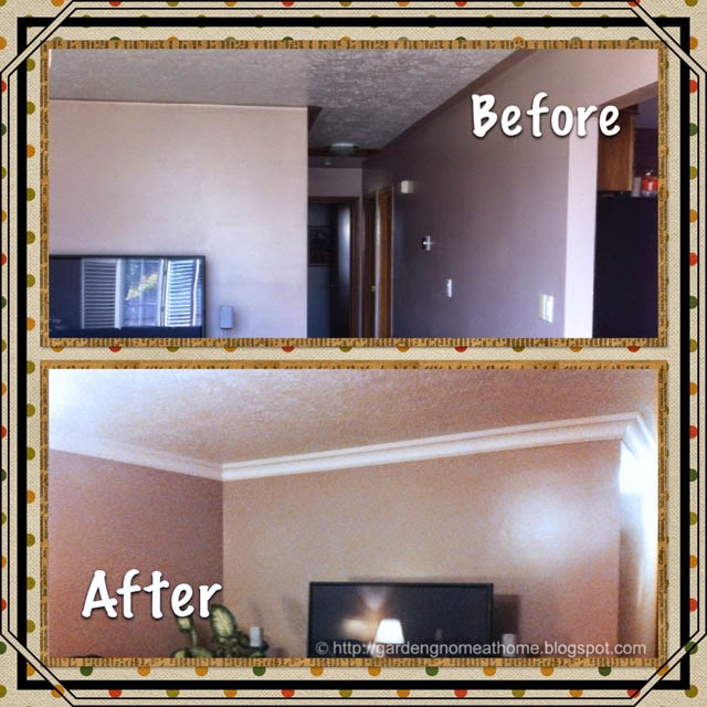 crown molding in great room
