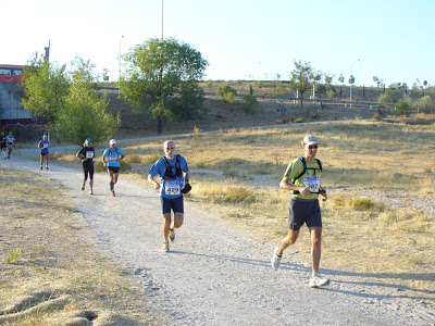 100km Madrid-Segovia: trotón Al camino de Tres Cantos