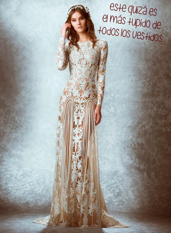 Zuhair Murad: Mauriane el vestido tupido